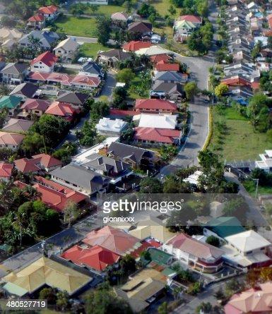 Davao City, Luftaufnahme – Mindanao, Philippinen : Stock-Foto