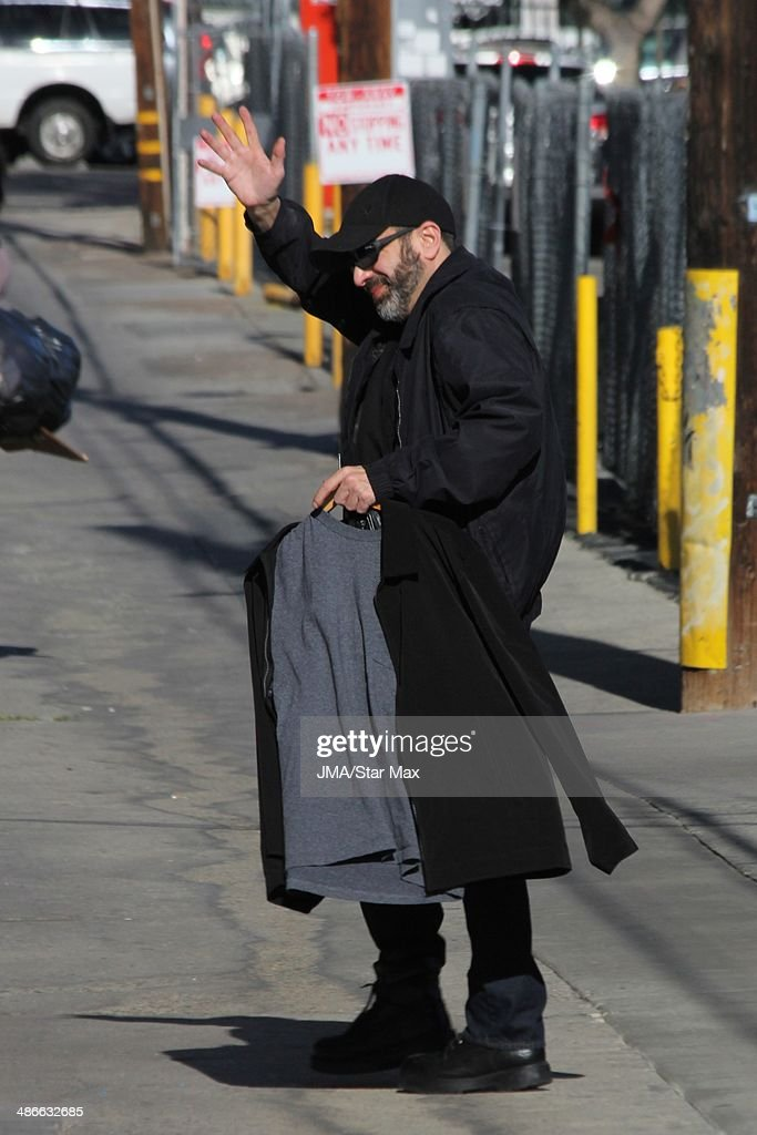 Dave Attell is seen on April 24, 2014 in Los Angeles, California.