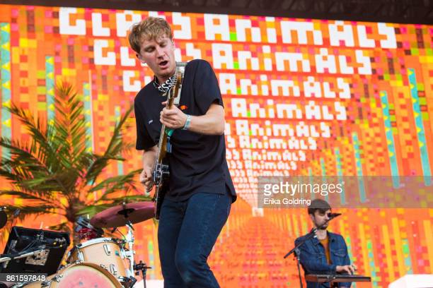 Dave Bayley and Edmund IrwinSinger of Glass Animals perform during Austin City Limits Festival at Zilker Park on October 14 2017 in Austin Texas