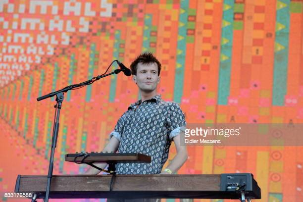Dave Bayley of Glass Animals performs during Day 6 of Sziget Festival 2017 on August 14 2017 in Budapest Hungary