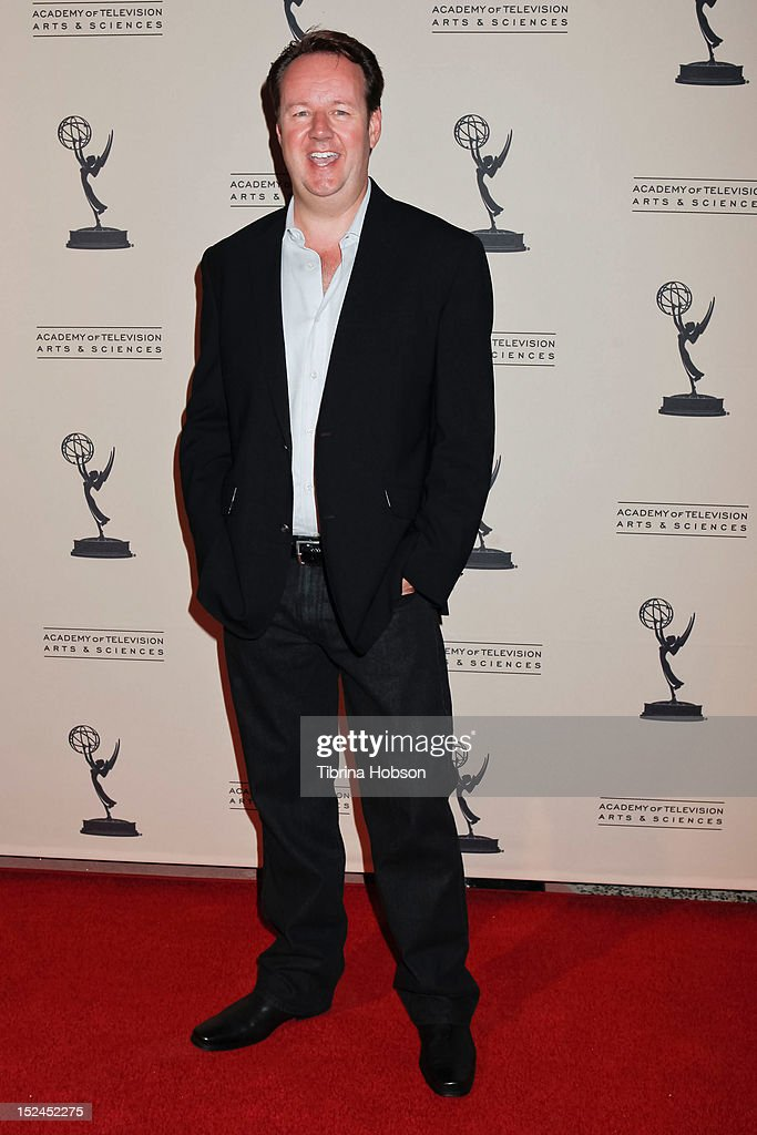 Dave Boone attends the 64th primetime Emmy Awards writers' nominee reception at Academy of Television Arts & Sciences on September 20, 2012 in North Hollywood, California.