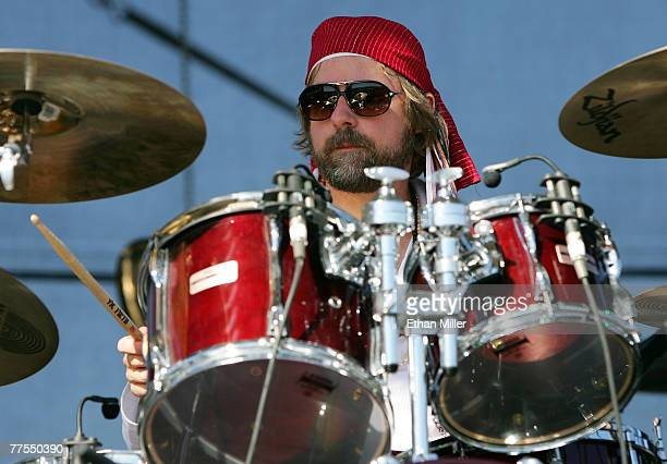 Dave Brogan of the band ALO performs during the Vegoose music festival at Sam Boyd Stadium's Star Nursery Field October 28 2007 in Las Vegas Nevada