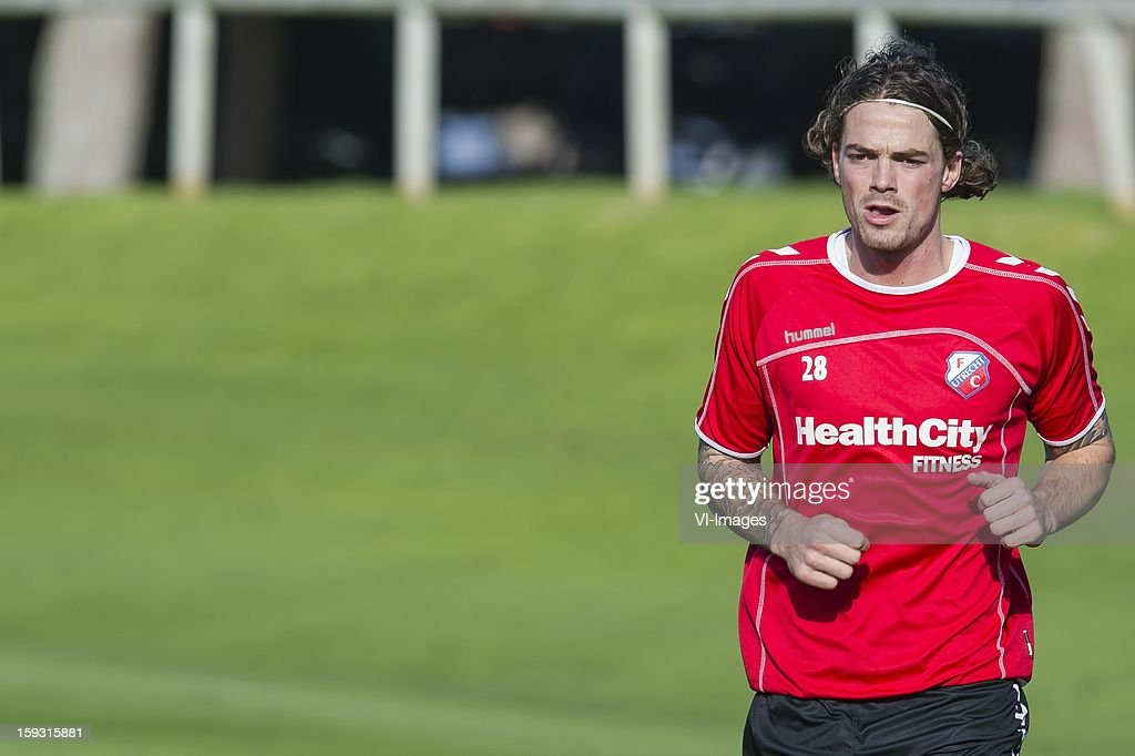 Dave Bulthuis of FC Utrecht during the training camp of FC Utrecht on January 11, 2013 at Almancil, Portugal.