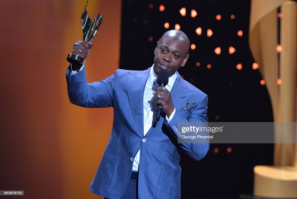 Dave Chappelle at the 2017 Canadian Screen Awards at Sony Centre For Performing Arts on March 12, 2017 in Toronto, Canada.