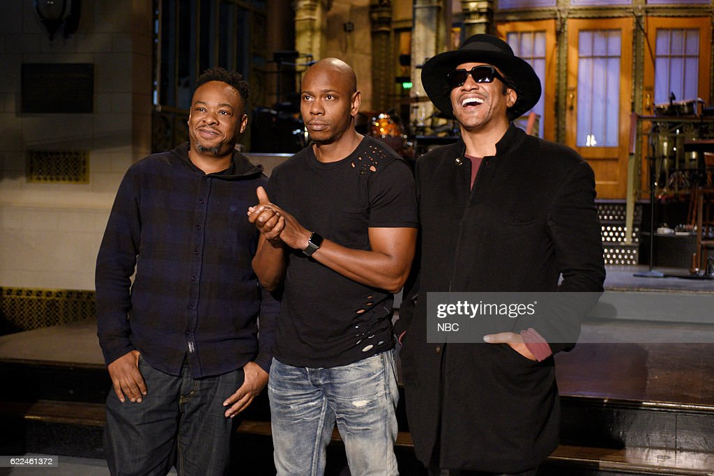 "SNL's ""Saturday Night Live"" with guests Dave Chappelle and A Tribe Called Quest"