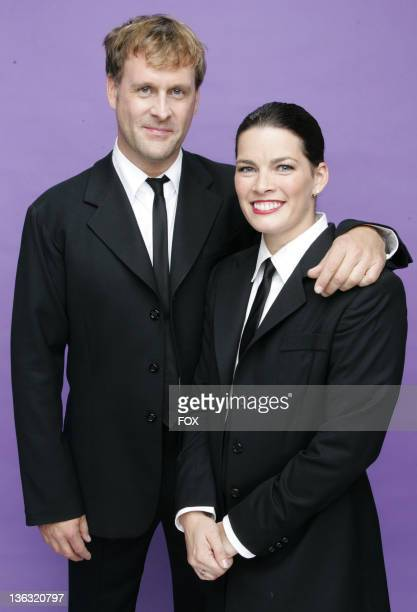 Dave Coulier and Nancy Kerrigan during 'Skating With Celebrities' Portrait Gallery in Hollywood California United States