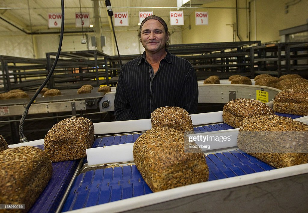 Dave Dahl, founder of Dave's Killer Bread, stands for a photograph at the company's bakery in Milwaukie, Oregon, U.S., on Friday, Jan. 4, 2013. Goode Partners, a private equity firm specializing in growth investments in the branded consumer products sectors, has purchased a fifty percent stake in Dave's Killer Bread which will help the company expand into new markets around the country. Photographer: Natalie Behring/Bloomberg via Getty Images