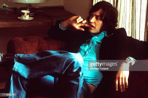 Dave Davies of The Kinks portrait London 1975