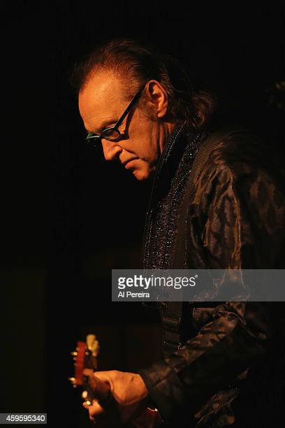 Dave Davies performs at City Winery on November 25 2014 in New York New York