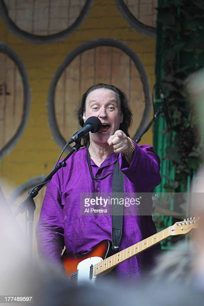 Dave Davies performs at the City Winery After Work Backyard Party on June 4 2013 in New York City