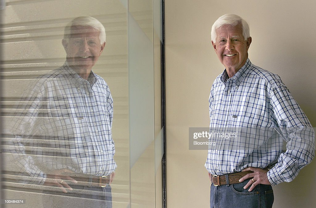 Dave Duffield, co-founder and co-chief executive officer of Workday, poses for a photo in Pleasanton, California, U.S., on Friday, May 21, 2010. Workday sells subscriptions to Internet based software that some of the world's largest companies use to manage human resources, payroll, accounting, buying products and sending out orders. Photographer: Tony Avelar/Bloomberg via Getty Images