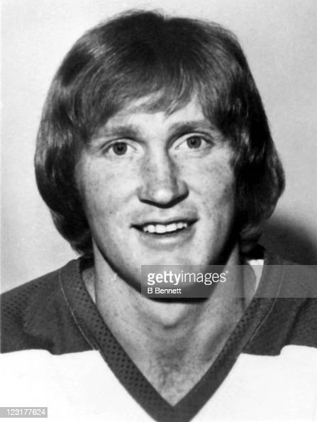 Dave Dunn of the Winnipeg Jets poses for a portrait in September 1976 in Winnipeg Manitoba Canada