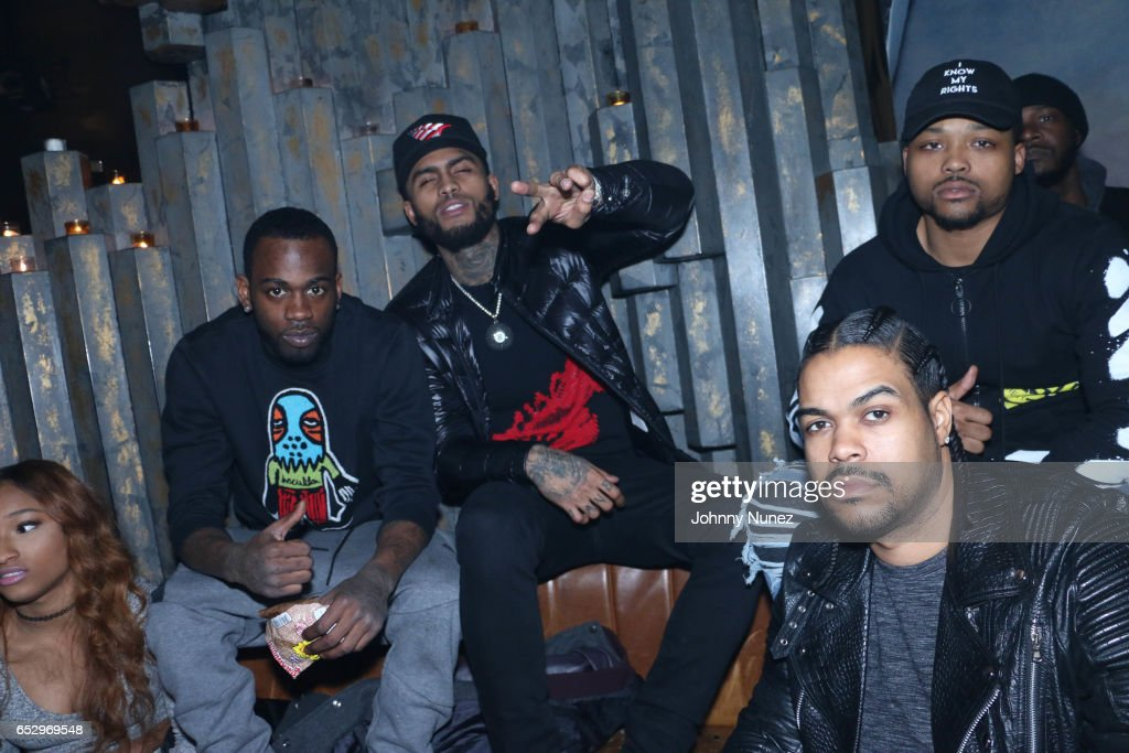 Dave East during Tanduay After Party With Cardi B And Dave East at The Griffin on March 12, 2017 in New York City.