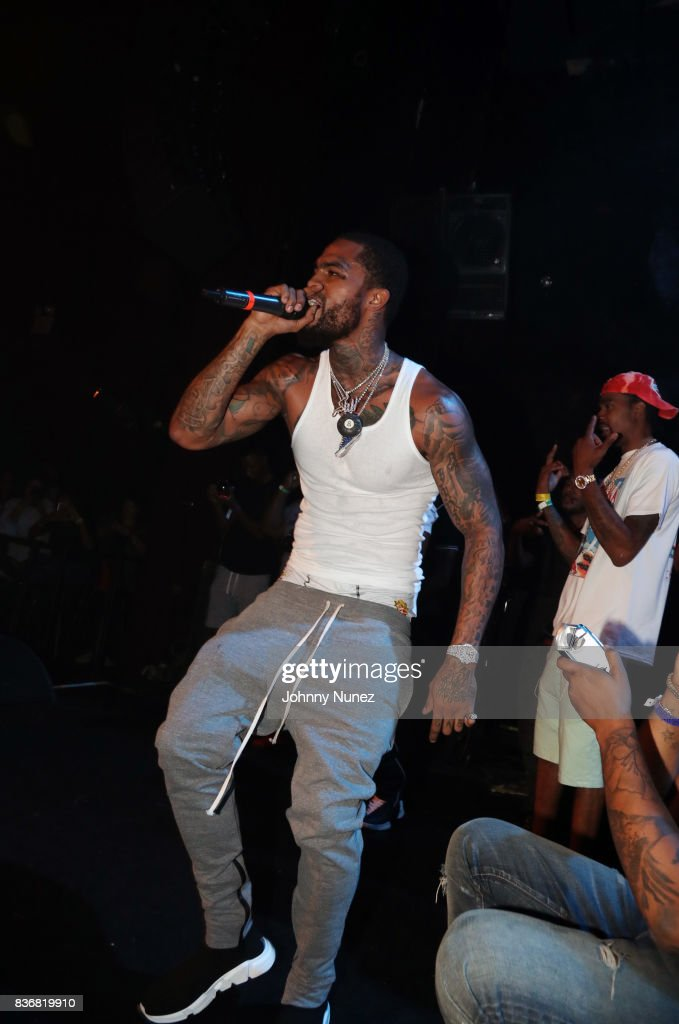 Dave East performs at Gramercy Theatre on August 21, 2017 in New York City.