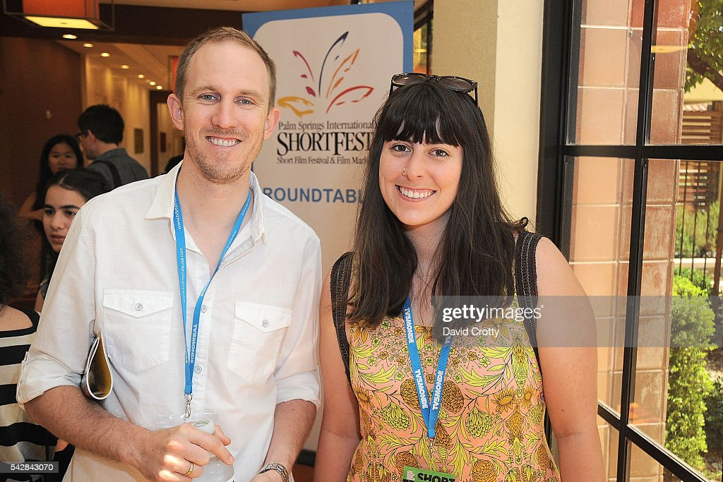 Dave Edwardz and Nikki Richardson attend the 2016 Palm Springs International ShortFest - Friday Forums & Roundtables on June 24, 2016 in Palm Springs, California.