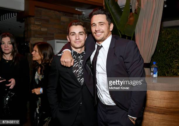 Dave Franco and James Franco attend the after party for the screening of 'The Disaster Artist' at AFI FEST 2017 Presented By Audi on November 12 2017...