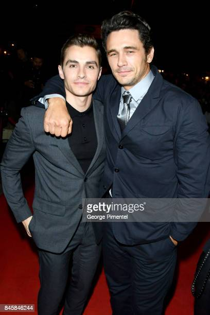 Dave Franco and James Franco attend'The Disaster Artist' premiere during the 2017 Toronto International Film Festival at Ryerson Theatre on September...