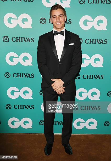 Dave Franco arrives for the GQ Men Of The Year Awards 2014 at The Ivy on November 19 2014 in Sydney Australia