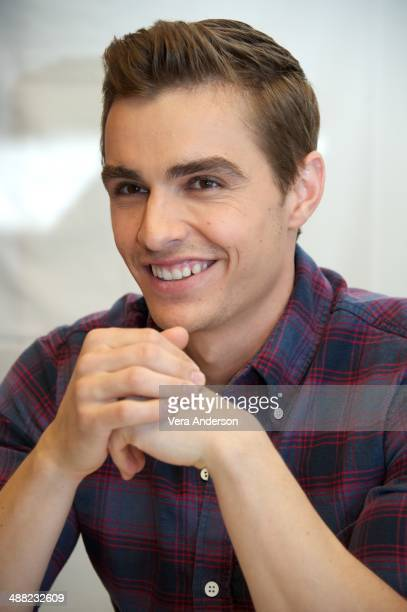Dave Franco at the 'Neighbors' Press Conference at the Mandarin Oriental Hotel on May 3 2014 in New York City