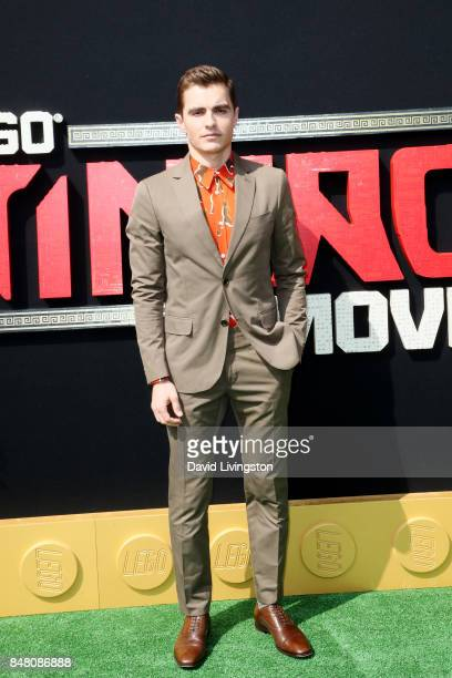 Dave Franco at the premiere of Warner Bros Pictures' 'The LEGO Ninjago Movie' at Regency Village Theatre on September 16 2017 in Westwood California