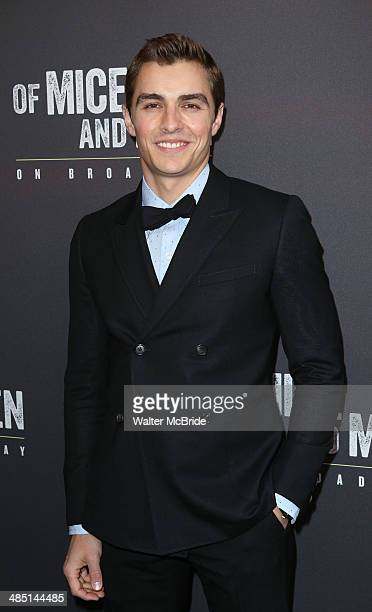 Dave Franco attends the Broadway opening night for 'Of Mice and Men' at Longacre Theatre on April 16 2014 in New York City