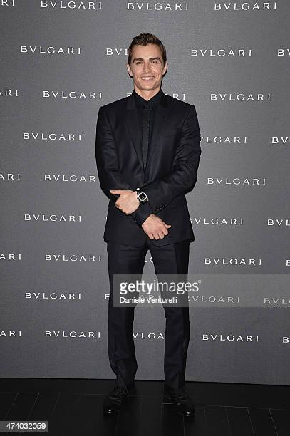 Dave Franco attends the Bulgari Autumn/Winter 2014 Accessories Presentation during Milan Fashion Week Womenswear Autumn/Winter 2014 on February 21...