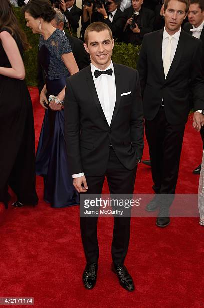 Dave Franco attends the 'China Through The Looking Glass' Costume Institute Benefit Gala at the Metropolitan Museum of Art on May 4 2015 in New York...