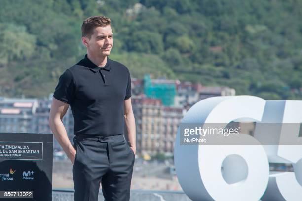 Dave Franco attends 'The Disaster Artist' photocall during the 65th San Sebastian International Film Festival on September 28 2017 in San Sebastian...