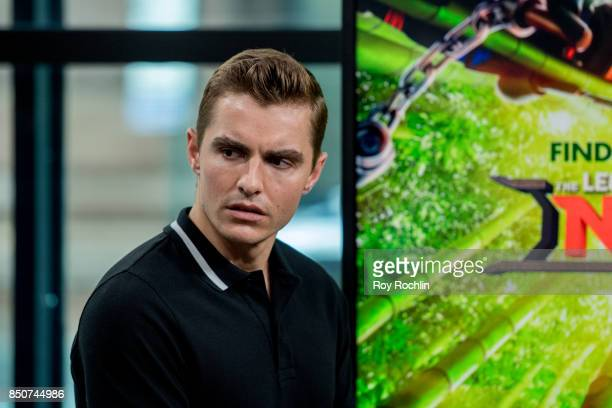 Dave Franco discusses 'The LEGO Ninjago Movie' with the Build Series at Build Studio on September 21 2017 in New York City