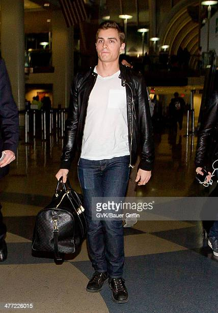 Dave Franco is seen at LAX on March 07 2014 in Los Angeles California