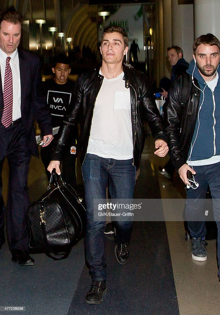 Dave Franco is seen at LAX on March 07, 2014 in Los Angeles, California.