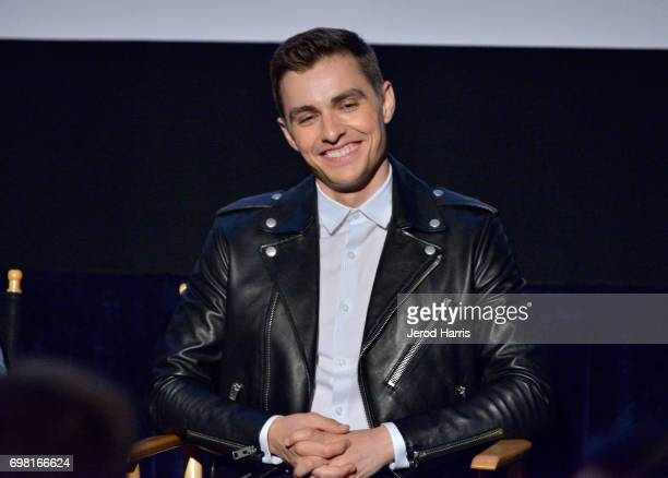 Dave Franco speaks at the screening of 'The Little Hours' during 2017 Los Angeles Film Festival at Arclight Cinemas Culver City on June 19 2017 in...