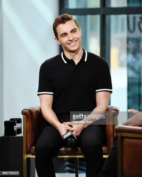 Dave Franco visits the Build Series to discuss the animated film 'The LEGO Ninjago Movie' at Build Studio on September 21 2017 in New York City