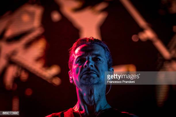 Dave Gahan of Depeche Mode perform at Pala Alpitouron stage on December 9 2017 in Turin Italy