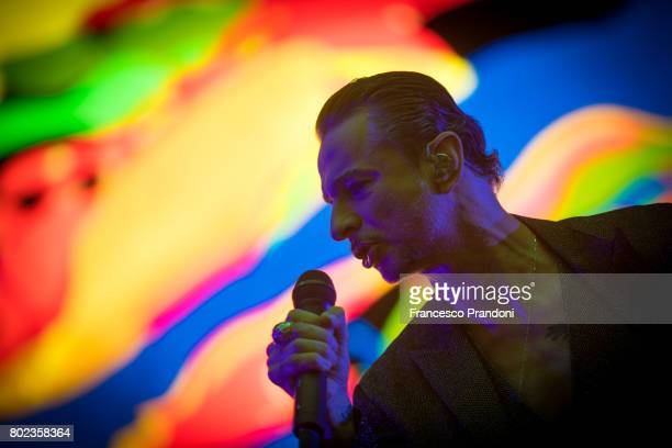 Dave Gahan of Depeche Mode performs at San Siro Stadium on June 27 2017 in Milan Italy