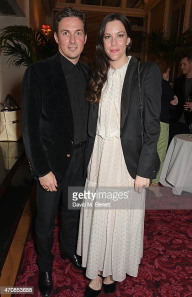 Dave Gardner and Liv Tyler attend as Audi hosts the opening night performance of 'La Fille Mal Gardee' at The Royal Opera House on April 23 2015 in...