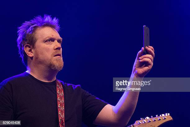 Dave Goodes of Alphaville performs during the 'We Love the 80's' Festival at Telenor Arena on May 7 2016 in Oslo Norway
