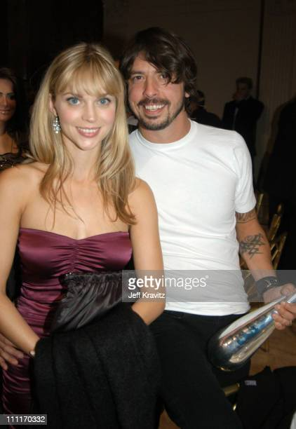 Dave Grohl and wife Jordyn Blum during Spike TV Presents 2003 GQ Men of the Year Awards After Party at The Regent Wall Street in New York City New...