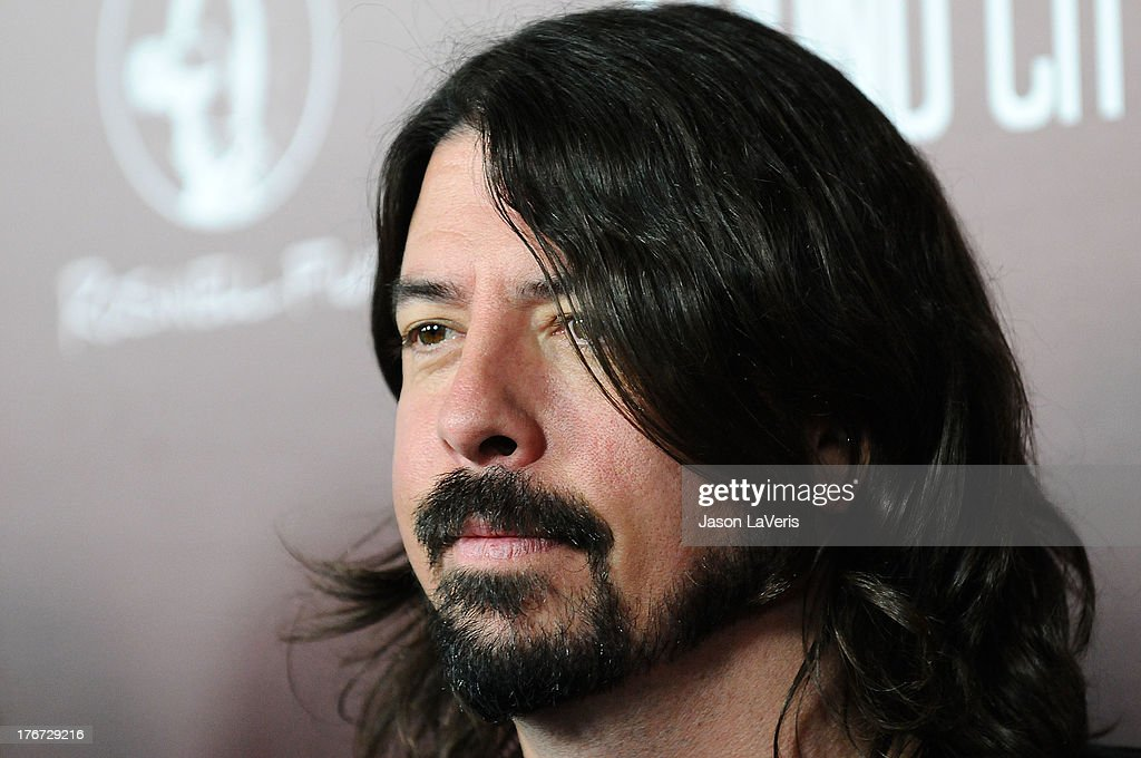 Dave Grohl attends the premiere of 'Sound City' at ArcLight Cinemas Cinerama Dome on January 31, 2013 in Hollywood, California.