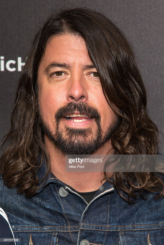 Dave Grohl of The Foo Fighters attends the 'Foo Fighters: Sonic Highways' New York Premiere at Ed Sullivan Theater on October 14, 2014 in New York City.