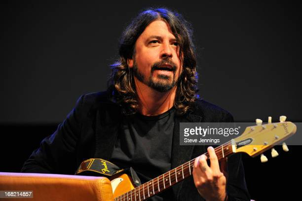 Dave Grohl QA following the BottleRock Napa Valley screening of 'Sound City' at The Uptown Theatre on May 6 2013 in Napa California