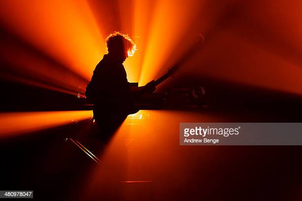 Dave Harrington of Darkside performs on stage at The Ritz Manchester on March 27 2014 in Manchester United Kingdom