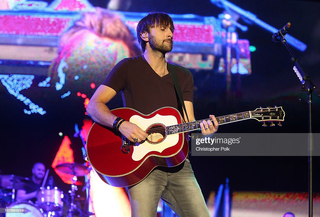 Dave Haywood of Lady Antebellum performs onstage during 2013 Stagecoach: California's Country Music Festival held at The Empire Polo Club on April 27, 2013 in Indio, California.