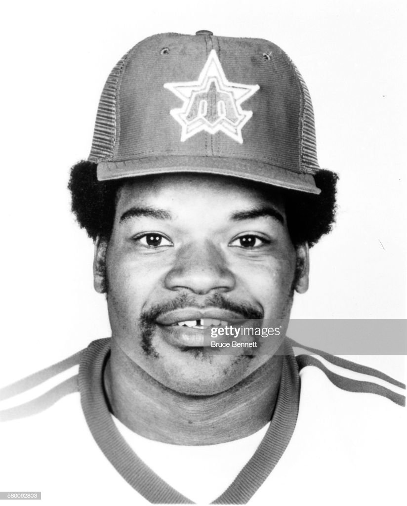 Dave Henderson of the Seattle Mariners poses for a portrait in March 1981 in Seattle Washington