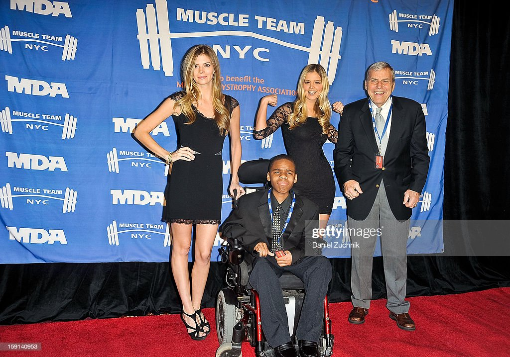 Dave Herman (R) attends the 16th Annual MDA Muscle Team Gala and Benefit Auction at Pier 60 on January 8, 2013 in New York City.