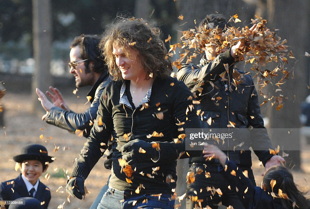 Dave Keuning of The Killers during The Killers 'Read My Mind' Video Shoot - January 10, 2007 in Tokyo, Japan.