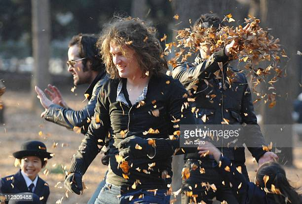 Dave Keuning of The Killers during The Killers 'Read My Mind' Video Shoot January 10 2007 in Tokyo Japan