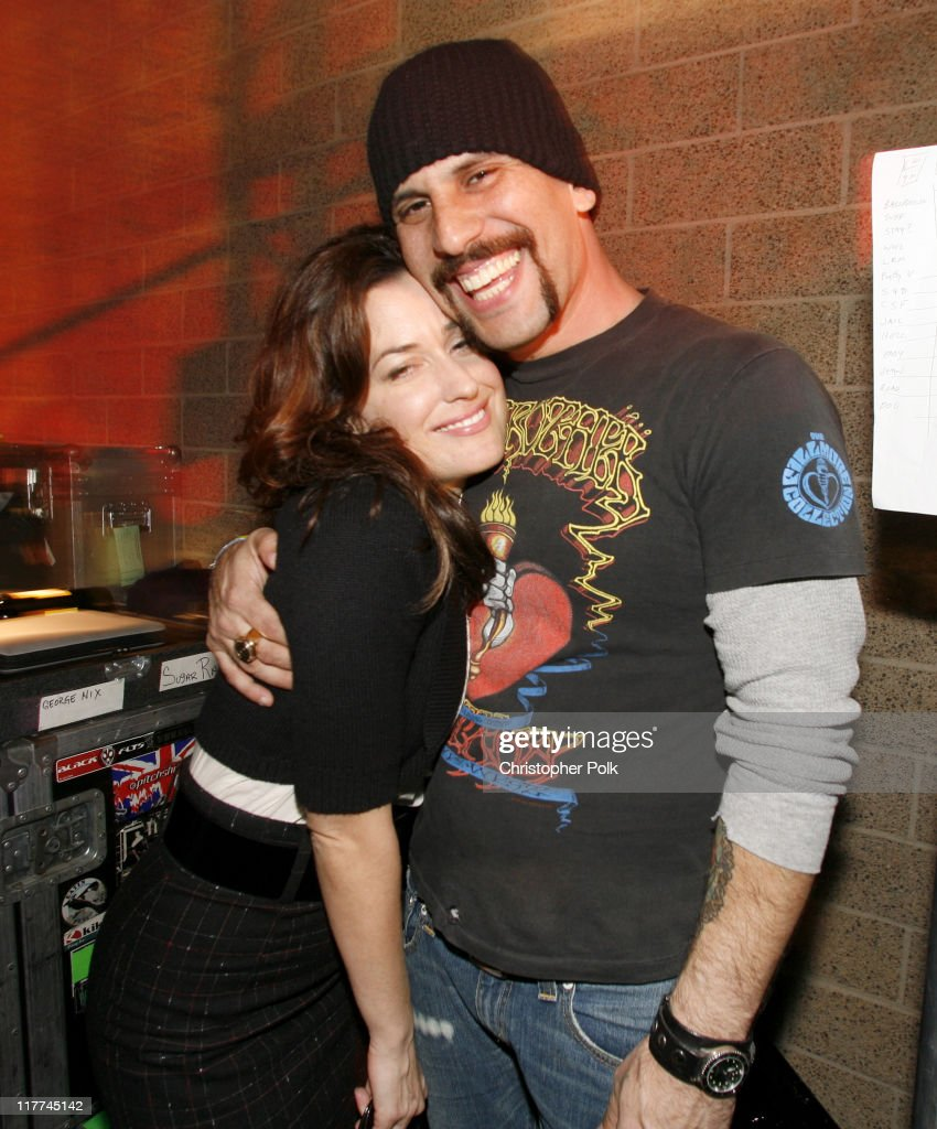 Dave Kushner and his wife Christine during Best Buy Celebrates the Launch of the New Playstation 3 - Inside at Best Buy in West Hollywood, California, United States.