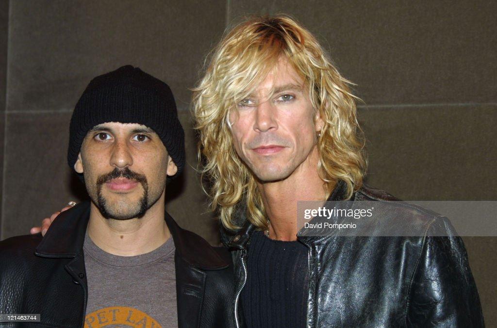 Dave Kushner of Velvet Revolver and Duff McKagan of Velvet Revolver