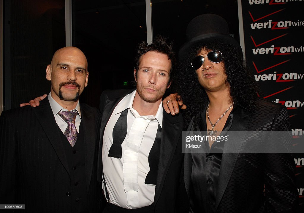 Dave Kushner, Scott Weiland and Slash of Velvet Revolver *EXCLUSIVE*